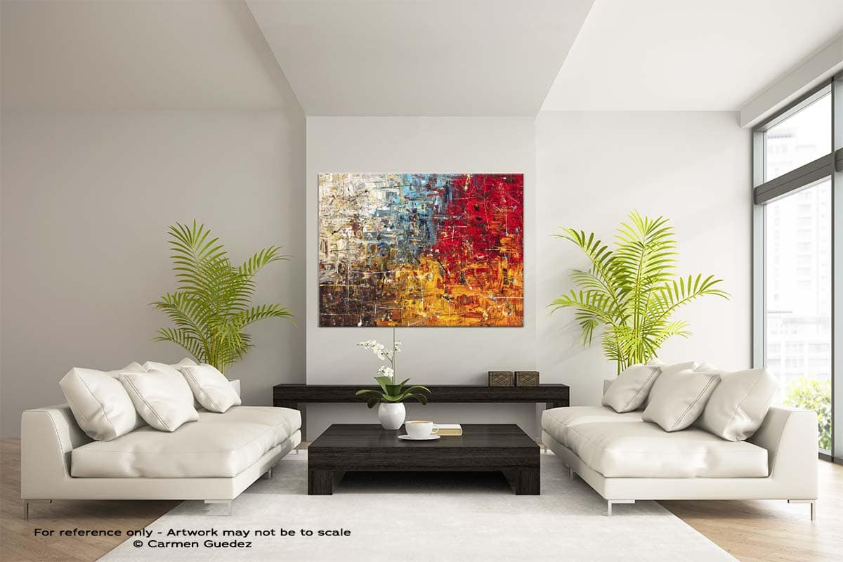 Thisisit Large Modern Abstract Art Painting Id49