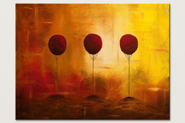 Three Alone But Together Large Abstract Art Id80