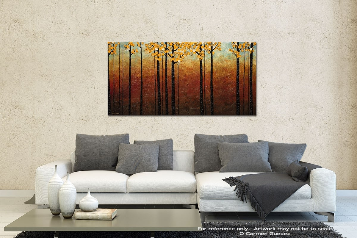 Tranquilidad Contemporary Abstract Art Id35