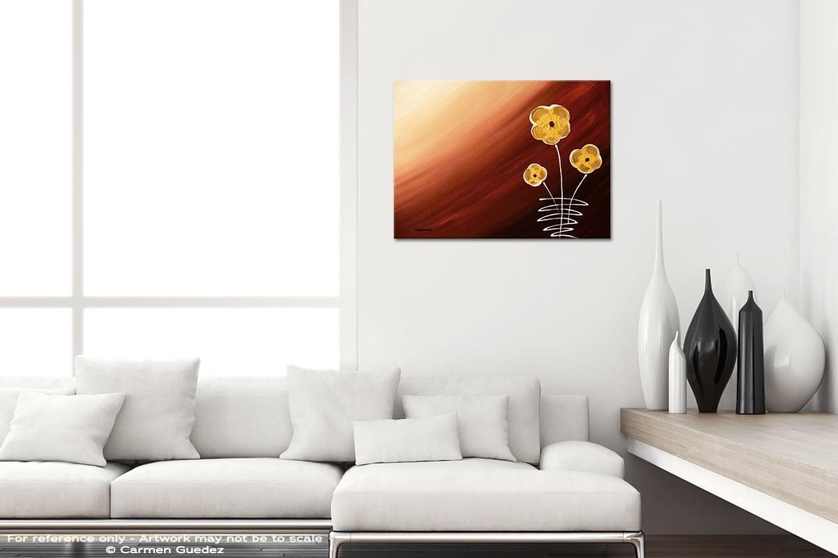 Tre Fiori Black And White Home Design Abstract Art Id64