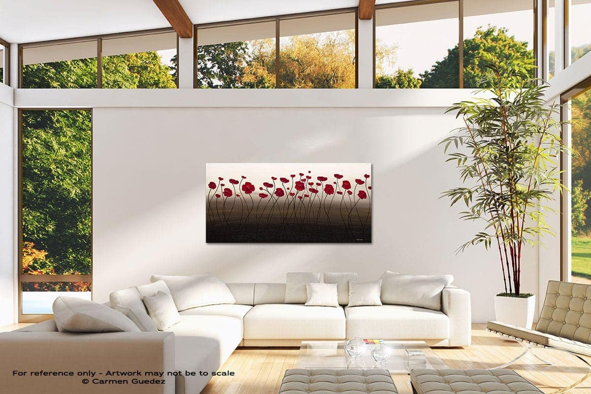 Tropical Breeze Modern Canvas Abstract Art Id38