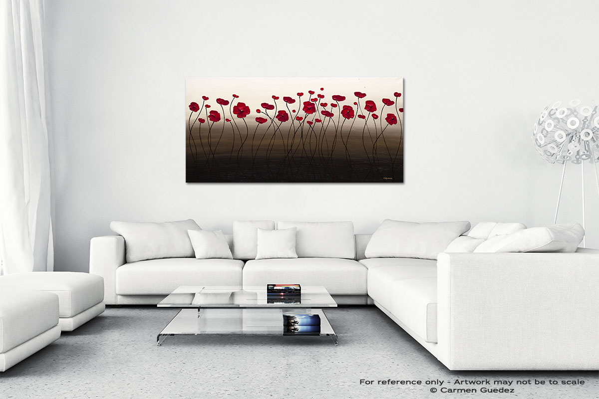Tropical Breeze Wall Art Canvas Painting Id40