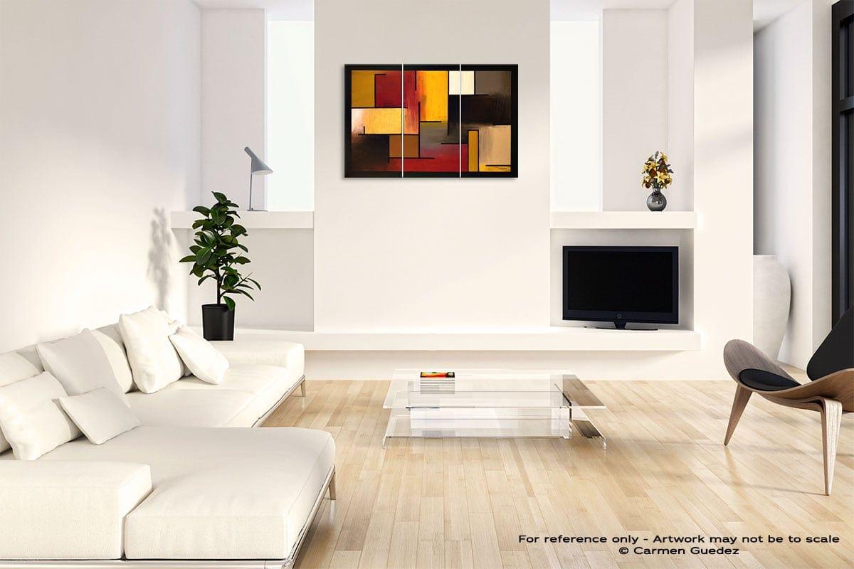 True Story Abstract Art Painting Interior Living Room Design Id60