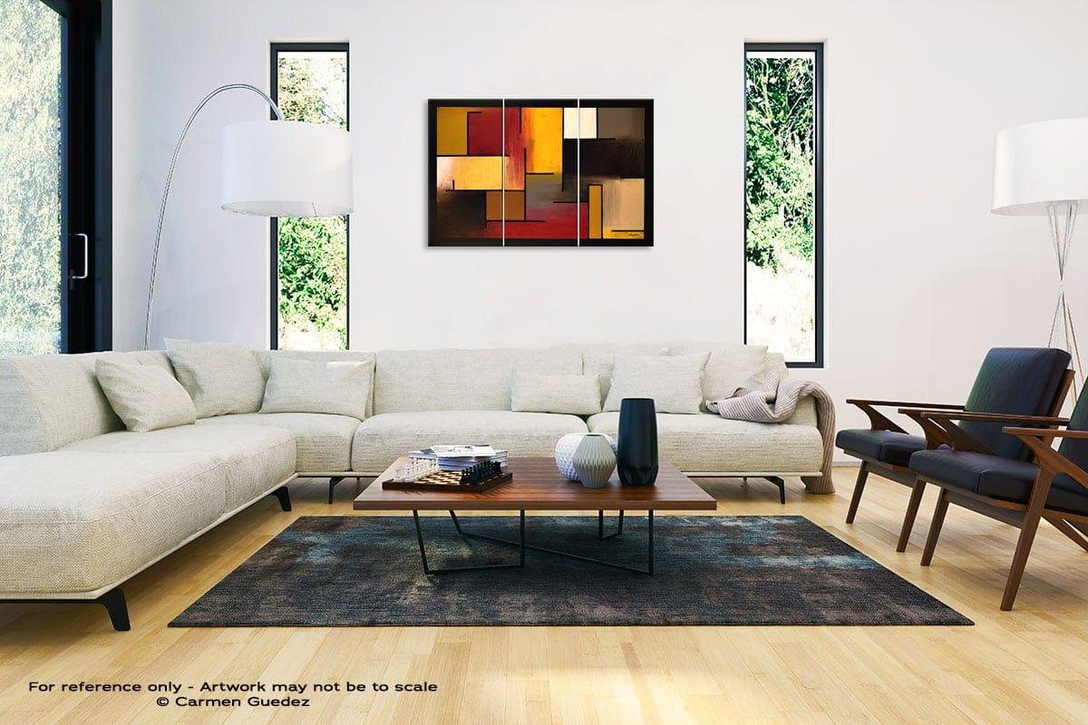 True Story Abstract Painting Interior Decor Art Id61