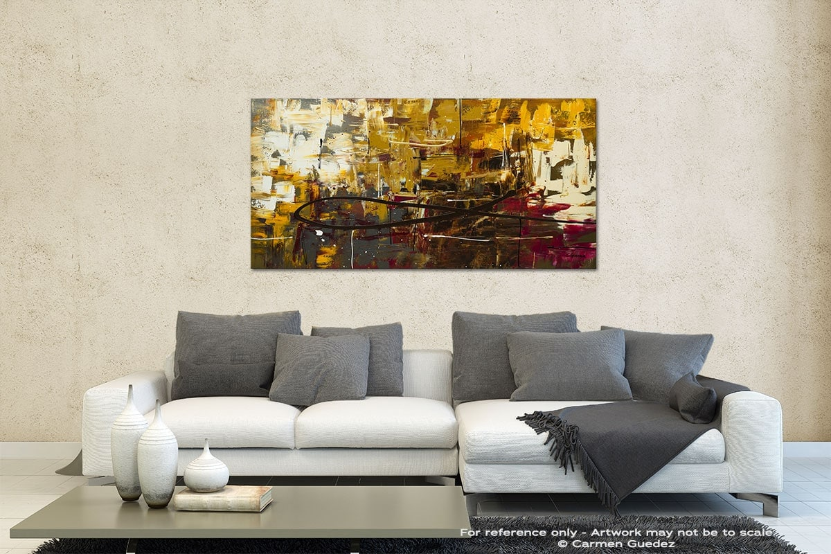 Tuscan Potpourri Contemporary Abstract Art Id35
