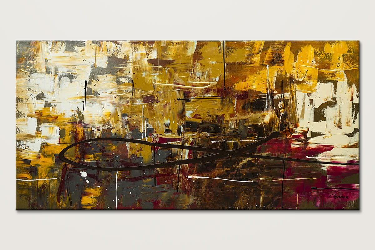 Tuscan Potpourri Modern Abstract Art Id80
