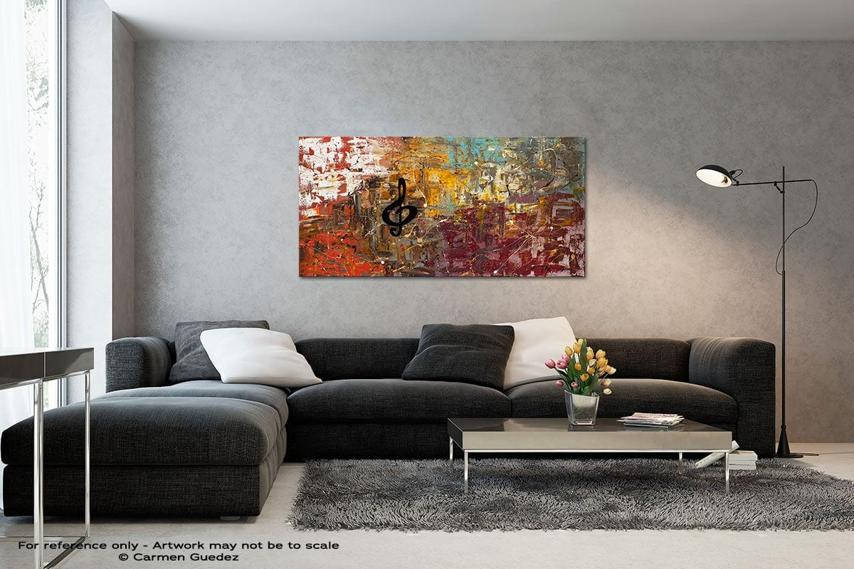 Universal Language Black And White Wall Abstract Art Painting Id70