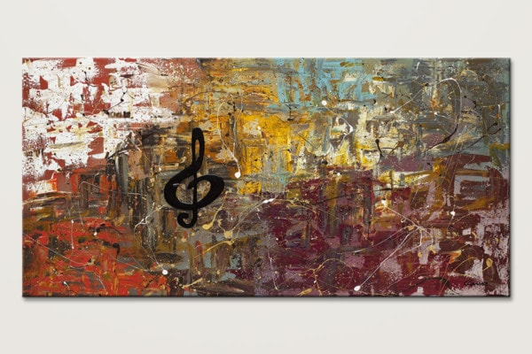 Universal Language Music Wall Art Painting Id80