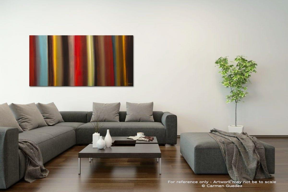 Virtudes Acrylic Gray Wall Art Painting Id34