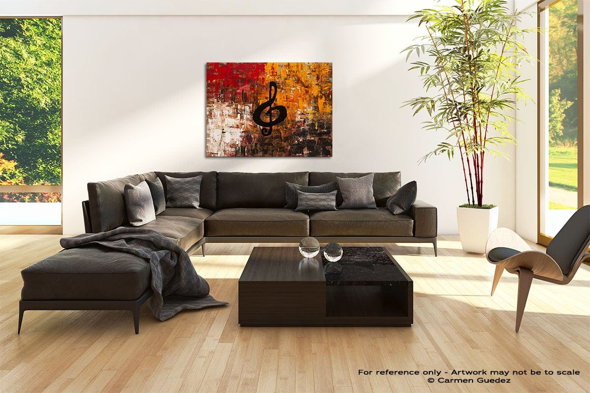 Virtuoso Abstract Painting Modern Home Id69