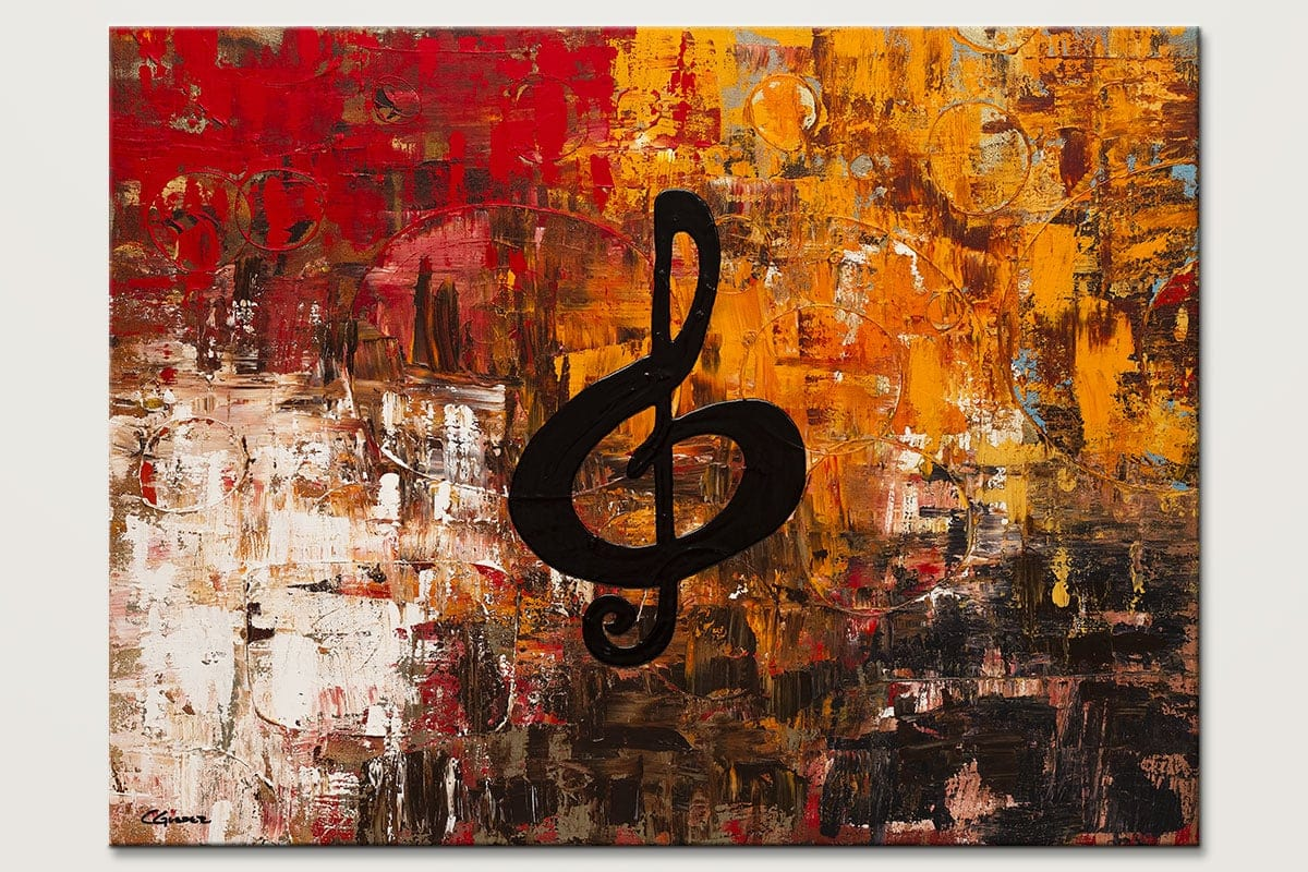 Virtuoso Music Wall Art Painting Id80