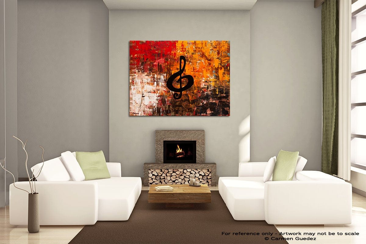 Virtuoso Painting On Canvas Large Living Room Id52