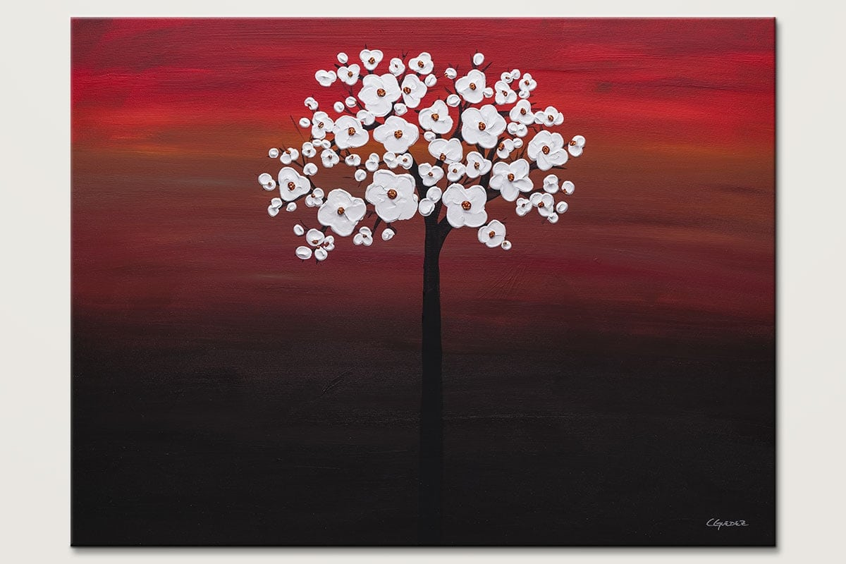 Wedding Flowers Canvas Painting Of Flowers Id80