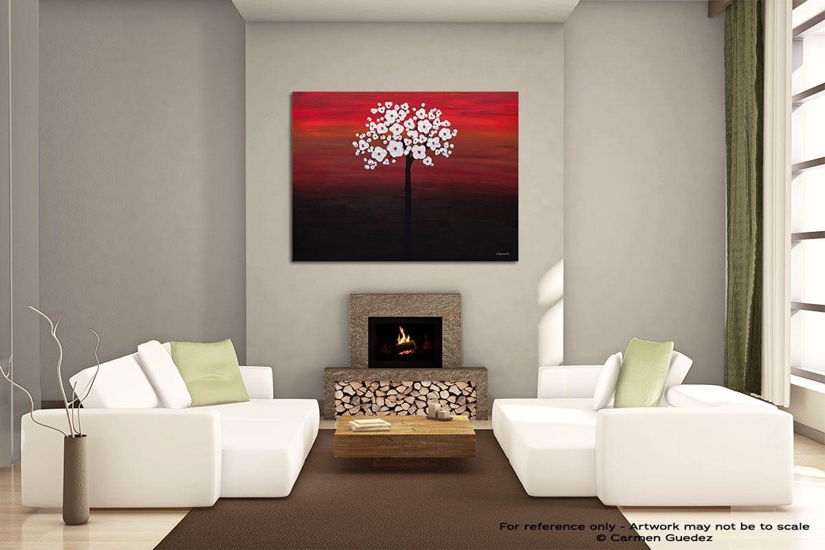 Wedding Flowers Painting On Canvas Large Living Room Id52
