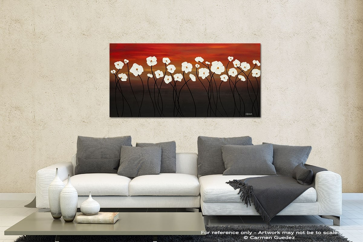 White Dreams Contemporary Abstract Art Id35