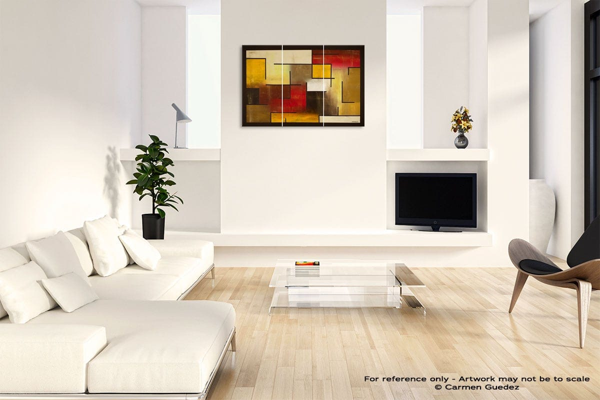 Who Figures Abstract Art Painting Interior Living Room Design Id60