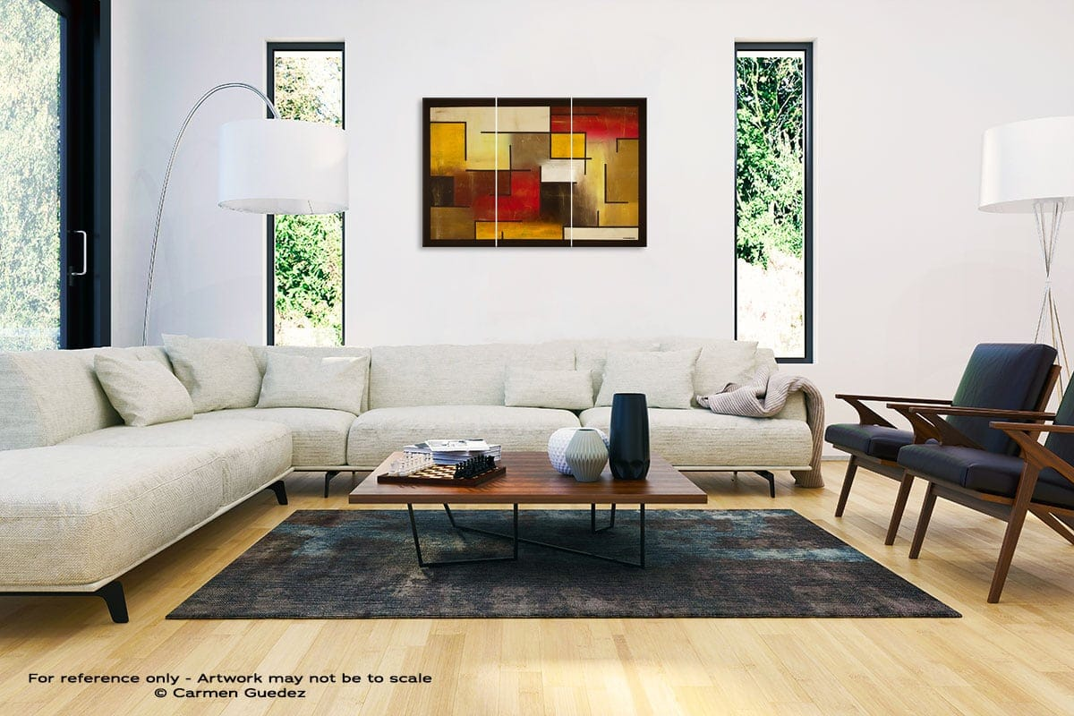 Who Figures Abstract Painting Interior Decor Art Id61