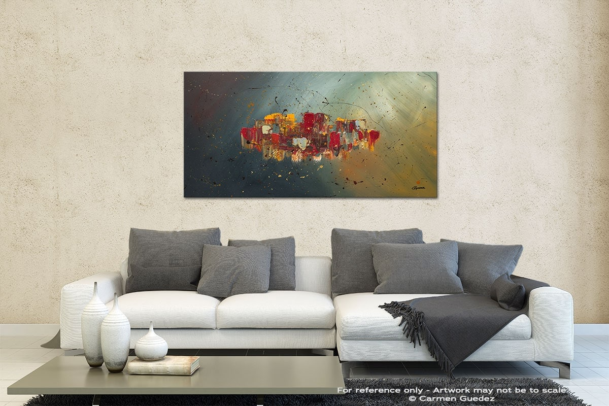 Winds Of Prosperity Contemporary Abstract Art Id35
