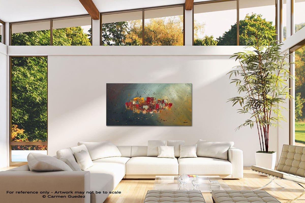 Winds Of Prosperity Modern Canvas Abstract Art Id38