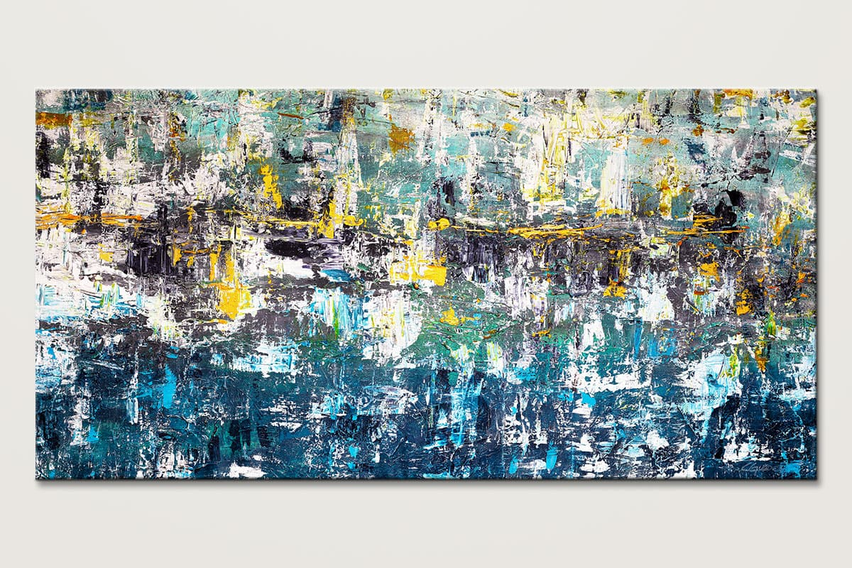 Wonderment1 Modern Abstract Art Painting