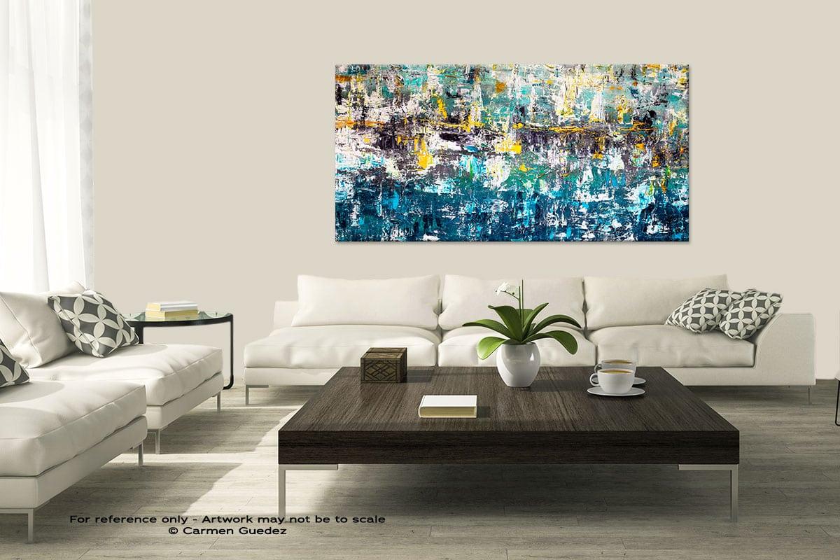Wonderment1 Modern Large Abstract Art Painting Id8