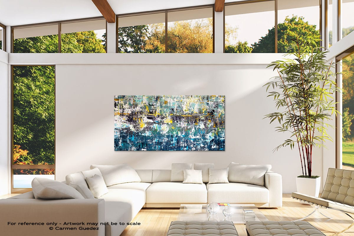 Wonderment1 Oversized Contemporary Abstract Wall Art Id10