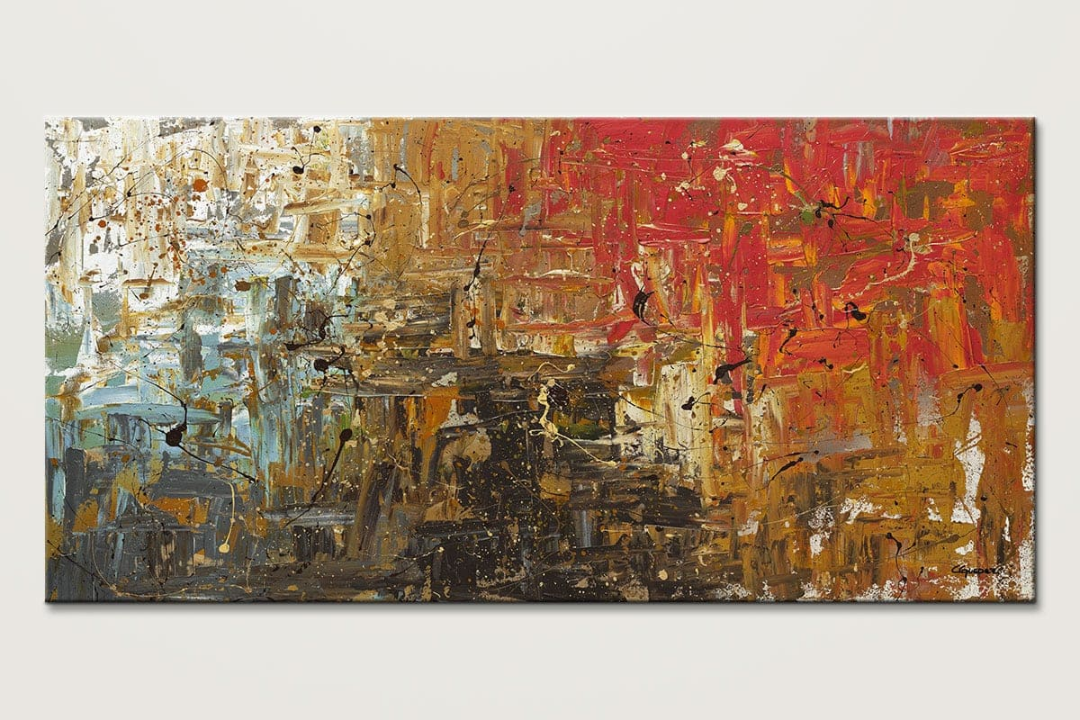 Wonders Of The World Abstract Painting Id80