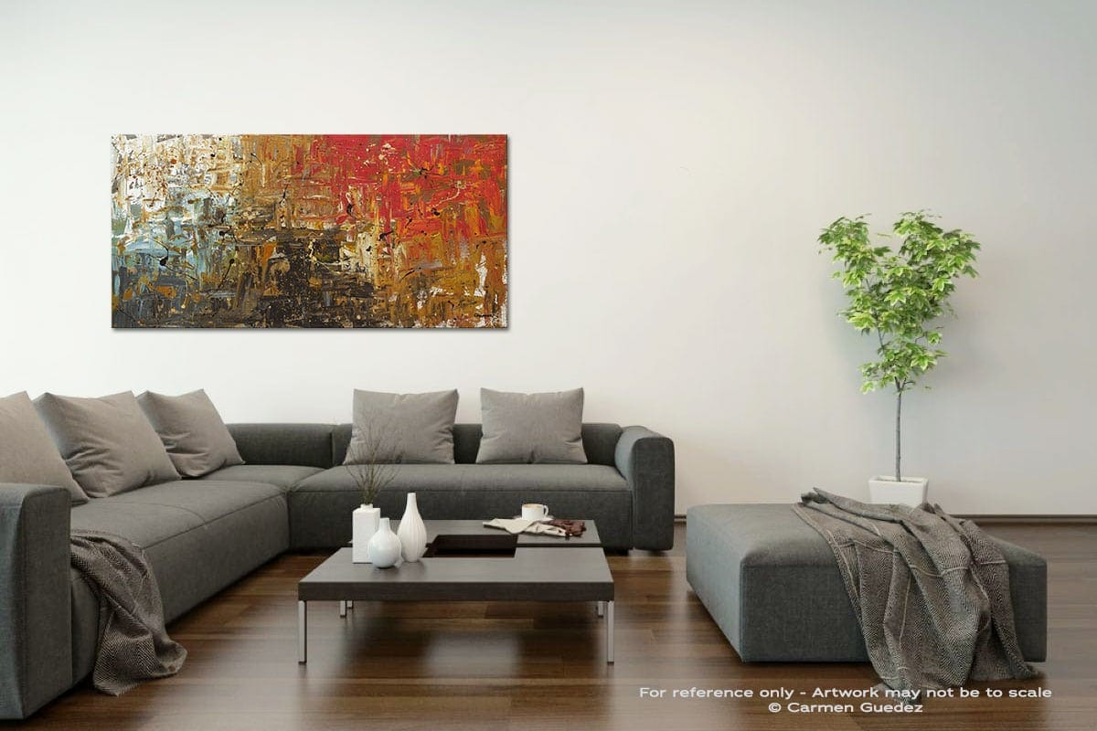Wonders Of The World Acrylic Gray Wall Art Painting Id34